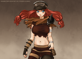 Miss Fortune League of Legends by hotbento