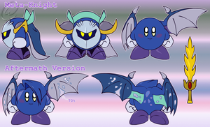 Ref. Sheet: Sir. Meta-Knight by Wolfwrathknight