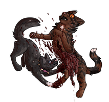 Tigerstar's Death by salmon-bear