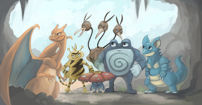 Let's go wrangle ourselves a Mewtwo by WforWumbo