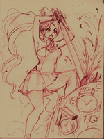 killing time - sketchy 11/15/2012 by cakeroll