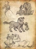 The Girl and the Wolf by kyla79