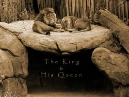 The King and His Queen by judas-christ