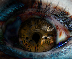 Watching Time From Torn Eyes by RedundantButterfly