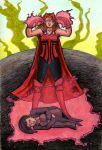Scarlet Witch VS Zatanna by Broken-Endings