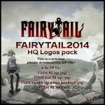 Logos - Fairy Tail 2014 HQ Logos pack by DlynK