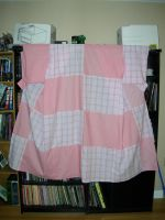 Pieced Pink Kosode by JanxAngel