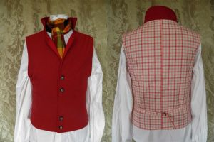 Steampunk-Victorian waistcoat PCW13-4 by JanuaryGuest