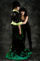 Cosplay: Death and Dream from Sandman by ShiroLuna