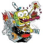 SPONGEBOB: SKATE or FRY by yourpalSmitty