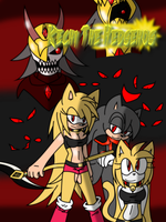 Kechi The Hedgehog Official Story Cover by SelTheQueenSeaia