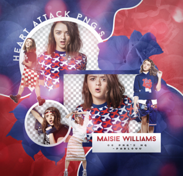 +Maisie Williams Pack Png. by Heart-Attack-Png