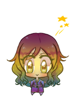 comission Blinking mini chibi_ Casey by 0chidori0