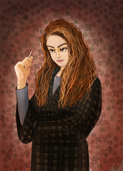 Shelly Johnson from Twin Peaks by 0cilo