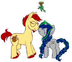 Merry Christmas from Enigma Stitch and Mead Must by Cryptic-Enigma