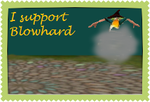 Blowhard Supporter Stamp by LadyALT69