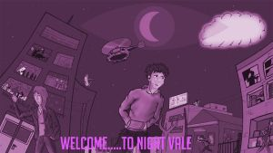 Welcome to Night Vale (monochrome) by DrMengus