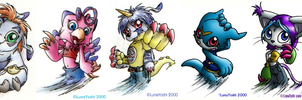 Old: Digimon: Anthro-mons by LuLuLunaBuna