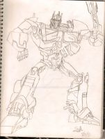 optimus tfp by Saphrire