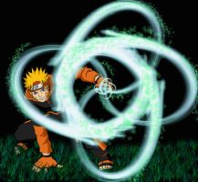 Great Whirlwind Rasengan by ClassikLunacy