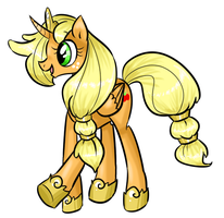 Princess Applejack by theluckyangel