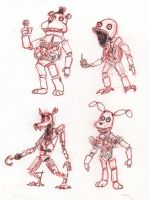 FNAF Redesigns - Thumbs by HJTHX1138