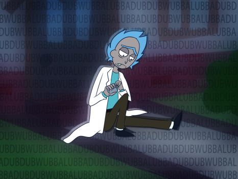Rick and Morty - WLDD by StarriiChan