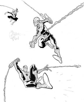 Playin with Spidey by RyanOttley