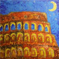 dotted colosseo by kimarte
