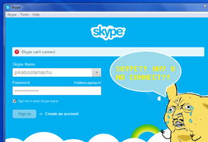 SKYPE?! Why U No Work?!! by Ask-MusicPrincess3rd