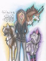 .: Four Faces of Me :. by SillyTheWolf