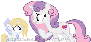 Great Auntie Sweetie Belle by iPandacakes