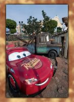 Flash McQueen and Martin by ANDR3KO-FOTOGRAPHIE