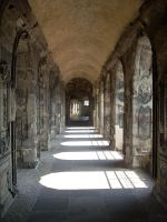 Roman Corridor 01 by Detail-Stock