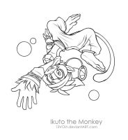 Comm. Ikuto the Monkey by 13VOin