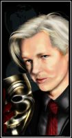 .:Julian Assange:. by Dismay666