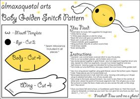 Baby Snitch Pattern by almaxaquotal