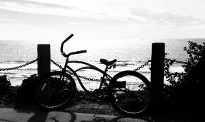 my ride in CA's Oceanside by capturedpoetry