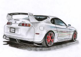 My Dream - Toyota Supra MK IV Turbo by Arek-OGF