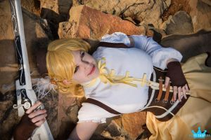 Mami Tomoe - Tiro Finale by Flaming-Goddess