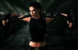 Lara_Croft_Excalibur by ivedada