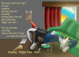 After a sylvester party by WhiteRoo