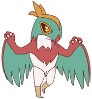 Hawlucha by Reluctant-Heroes