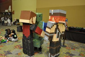 Minecraft Yogscast Cosplay 19 by Auzrill