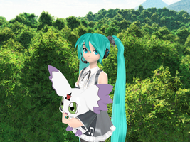 MMD Newcomer - Calumon + DL by JackFrostOverland