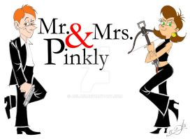 Mr. and Mrs. Pinkly by acla13