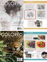 2012 Colored Pencil Magazine Challenges (wins) by kelch12
