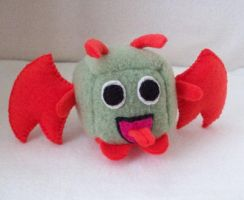 Toasty George Cube Plushie by Cube-lees