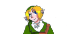 Muro doodling - oh god its link D: by bamf11