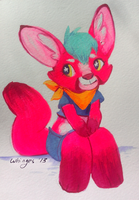 Neon Fennec by whinges